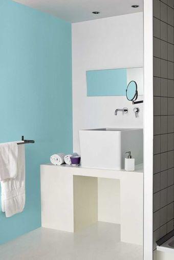 Peindre du carrelage de salle de bains : les 3 erreurs à éviter - CôtéMaison.fr   Accessoires salle de bains   Scoop.it
