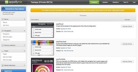 Appsify.me – Créer votre application iPhone en ligne | Actu Médias Sociaux | Scoop.it