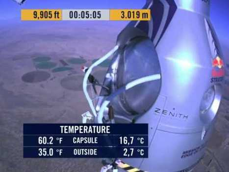 LIVE: Felix Baumgartner Attempts To Jump from the Stratosphere | NYL - News YOU Like | Scoop.it
