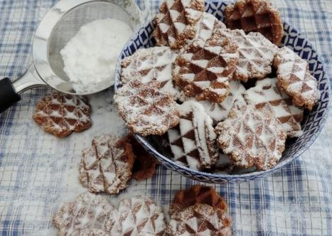 Speculaas wafels bakken in mini formaat. Uitdelen maar! | Lekker Tafelen | Lekker Tafelen | Scoop.it