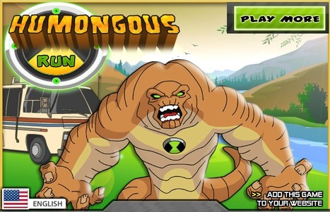 Humongous Run - Play Your Best Ben 10 Games | Ben 10 Games | Spiderman Games | Transformers Games | Scoop.it