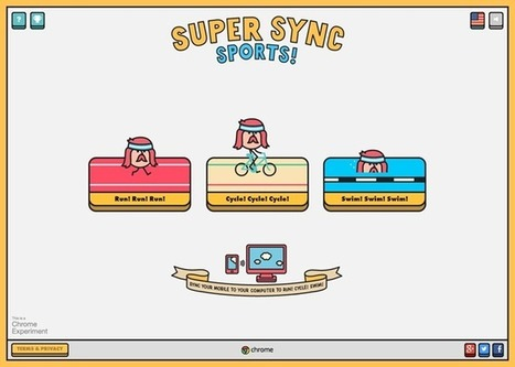 Use Chrome On Your Phone As A Controller In Google's New Desktop Browser-Based Game 'Super Sync Sports' | Android Apps | Scoop.it