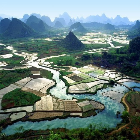 China: The beautilful Li river | Wicked! | Scoop.it