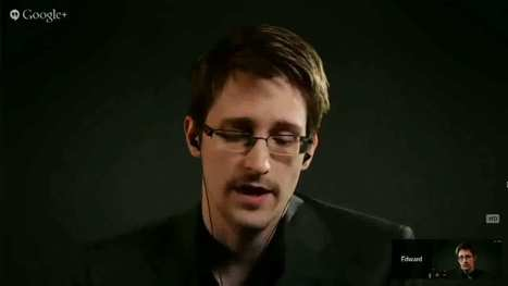 Edward Snowden Explains Why He Blew the Whistle on the NSA in Video Interview with Lawrence Lessig | NGOs in Human Rights, Peace and Development | Scoop.it