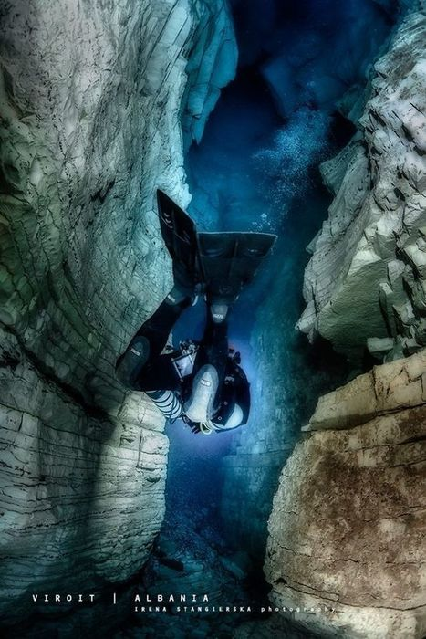 The Magical Underwater World Of Albanian Caves | ScubaObsessed | Scoop.it