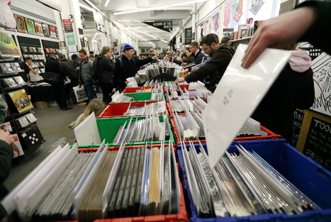 Record Store Day Breaks Sales Records, Nirvana Tops Vinyl Singles | The Making of The 21st Century Salesperson | Scoop.it