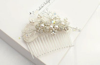 Bridal lace comb | Fashion | Scoop.it