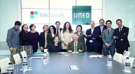 UNED - Convenio UNED - Microsoft (PROYECTO ECO) - 04/12/15, UNED - RTVE.es A la Carta | #masterredesuned Máster Redes Sociales y Emprendimiento | Scoop.it