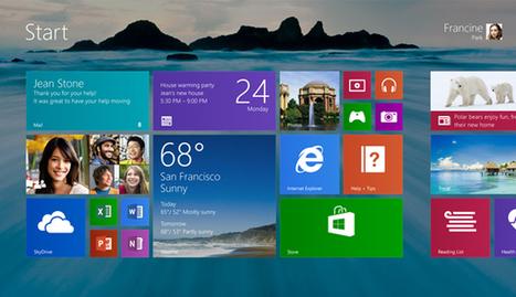 Microsoft offers first look at Windows 8.1, Start button returns   Računalniki   Scoop.it