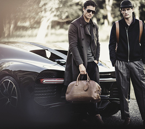 Armani et Bugatti signent une collection capsule | Les Gentils PariZiens : style & art de vivre | Scoop.it