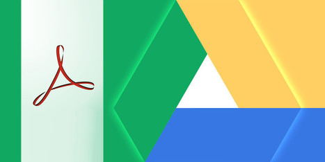 10 Tips To Do More With Your PDF Files On Google Drive | Onderwijs, ICT, Internet | Scoop.it
