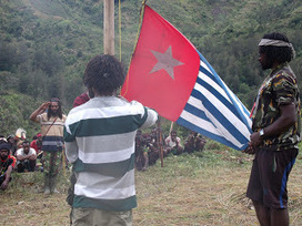 Papua Memperingati Hari Kemerdekaan dengan Upacara Pengibaran Bintang Kejora - LATEST WEST PAPUA | Papuan News | Scoop.it