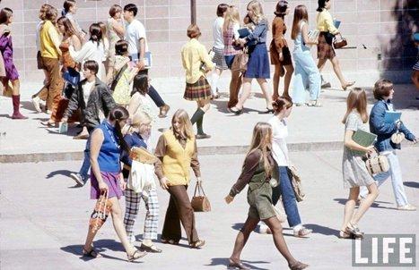 High School Fashions, 1969   Vintage, Robots, Photos, Pub, Années 50   Scoop.it