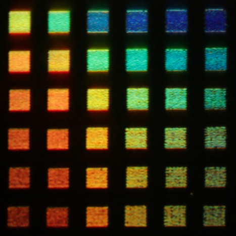 Vivid, full-color aluminum plasmonic pixels to create the LCD color display of the future | Amazing Science | Scoop.it