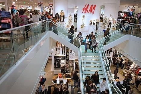 Beaucoup de digital dans ce flagship store H&M. | La Minute Retail | Innovation | Scoop.it