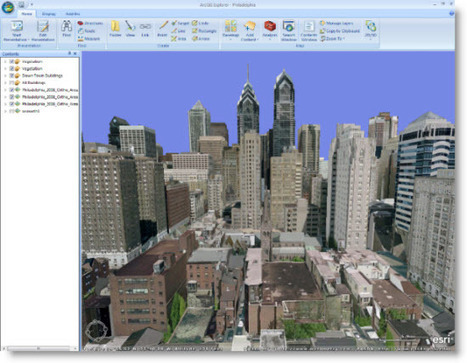 Virtual 3D Cities Anytime, Anywhere | Esri Insider | geoinformação | Scoop.it