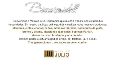 www.metalesjulio.com.ar - Desde 1965 | Artesanía | Scoop.it
