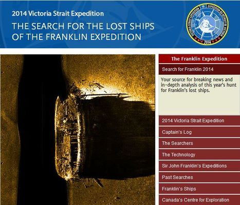The Search for the Lost Ships of the Franklin Expedition | Geography Education | Scoop.it