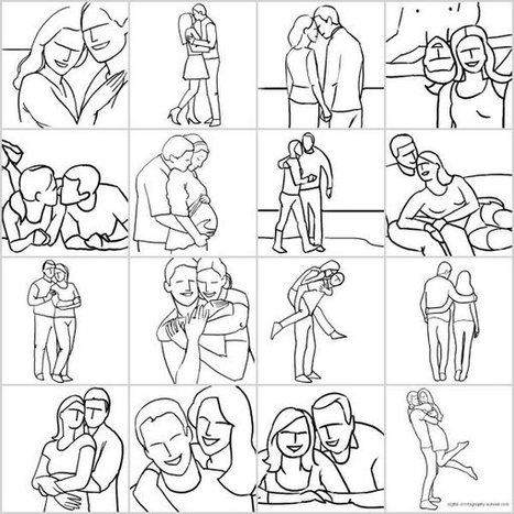 Posing Guide: 21 Sample Poses for Photographing Couples | xposing world of Photography & Design | Scoop.it
