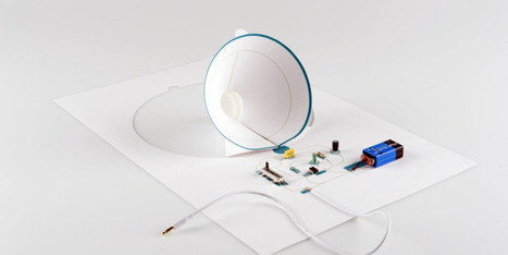 This Speaker Is Made From A Single Sheet Of A4 Paper | Skylarkers | Scoop.it