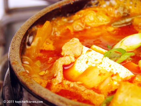 Kimchi Jjigae / Kimchi Stew(김치찌개) | Foodie | Scoop.it