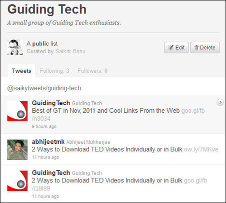 The Complete Guide to Creating and Using Twitter Lists | Edtech PK-12 | Scoop.it