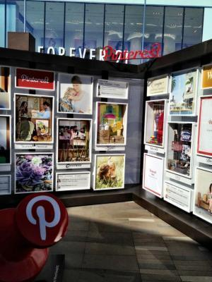 Pinterest sighting: A Web brand finds its way out into the real world | Pinterest | Scoop.it