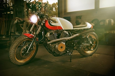 Yamaha XV950 Custom - Silodrome | Cafe Racer | Scoop.it