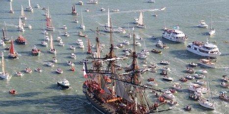 L'Hermione prend la mer - Patrimoine-en-blog | L'observateur du patrimoine | Scoop.it