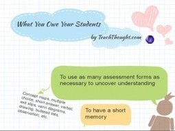 What You Owe Your Students | East Professional Development | Scoop.it