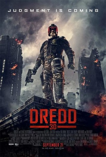 Final Poster For Dredd 3D Puts The Hero Front And Center - Cinema Blend | Machinimania | Scoop.it