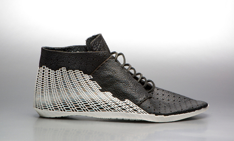 leather meets 3D printing in the bits shoe by earl stewart | Big and Open Data, FabLab, Internet of things | Scoop.it
