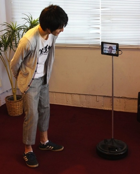 Telemba Turns Your Old Roomba and Tablet Into a Telepresence Robot | Robots in Higher Education | Scoop.it