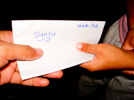 How to Write a Letter to Santa Claus | Christmas Activity | Scoop.it