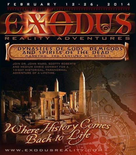 Timeline Photos - Exodus Reality Adventures | Facebook | The Related Researches & News of Dr John Ward | Scoop.it
