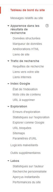 Google Webmaster met à jour son interface | Resolunet | Scoop.it