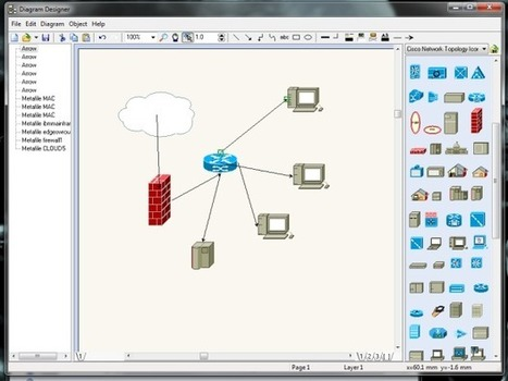 Five free apps for diagramming your network | Windows Infrastructure | Scoop.it