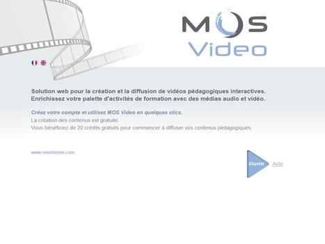 MOS Video, outil interactif de création et édition de vidéos | Courants technos | Scoop.it