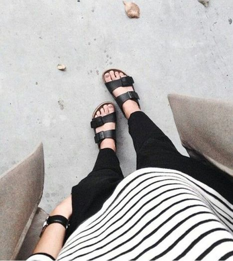Stylish Outfits To Wear Birkenstocks » Celebrity Fashion, Outfit Trends And Beauty News | Fashion Style And Beauty Tips | Scoop.it