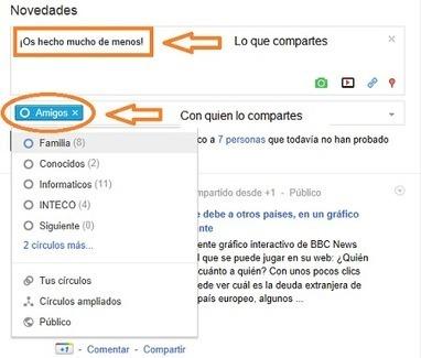 Seguridad en Google+ | Oficina de Seguridad del Internauta | Buen uso de las Redes Sociales | Scoop.it