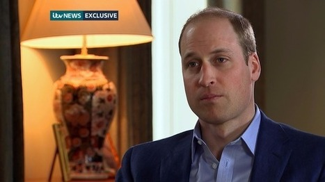 Prince William tells ITV News: The world has 5-10 years to save the rhino | What's Happening to Africa's Rhino? | Scoop.it