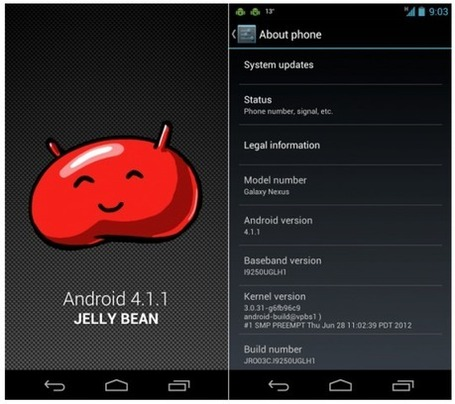 Galaxy Nexus in Canada gets Jelly Bean ... - Android Community | Android Technology | Scoop.it