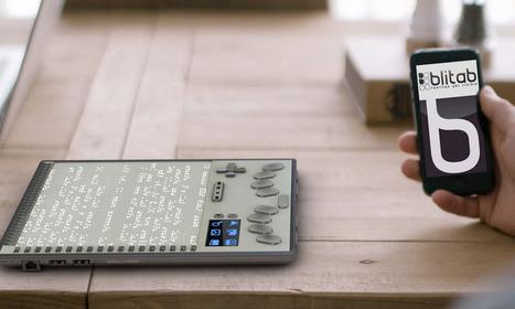 Este pode ser o primeiro tablet desenvolvido exclusivamente para deficientes visuais | Education Technologies | Scoop.it | Scoop.it