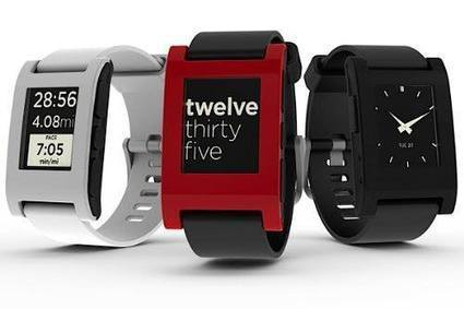 Smart Watch: Pebble E-Paper Watch for iPhone and Android - Wearable Gadgets | TechArc | Scoop.it
