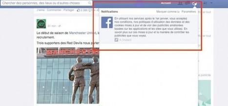 Facebook : de nouvelles conditions d'utilisation pour mieux vous traquer ? | Quoi de neuf sur les réseaux sociaux | Scoop.it