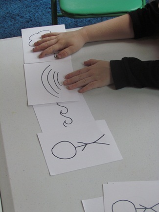 Thanksgiving time story telling with symbols in preschool | Literacia no Jardim de Infância | Scoop.it