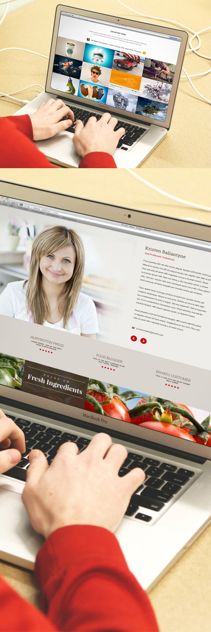 New Free Photoshop PSD Mockups for Designers (30+ MockUps) | Webdesign | Scoop.it