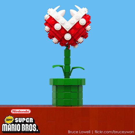 LEGO Piranha Plant | All Geeks | Scoop.it