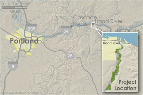 PacifiCorp signs over 400 acres along Hood River for restoration, recreation | Columbia Basin Salmon News | Scoop.it