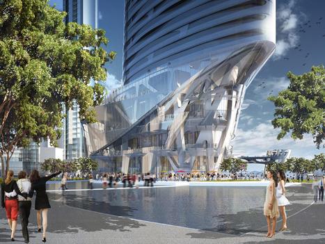 [Sydney, Australia] Adrian Smith + Gordon Gill: crown hotel sydney proposal for barangaroo | The Architecture of the City | Scoop.it